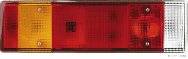Lichtscheibe für Heckleuchte Rücklicht Rückleuchte HERTH+BUSS ELPARTS L//R