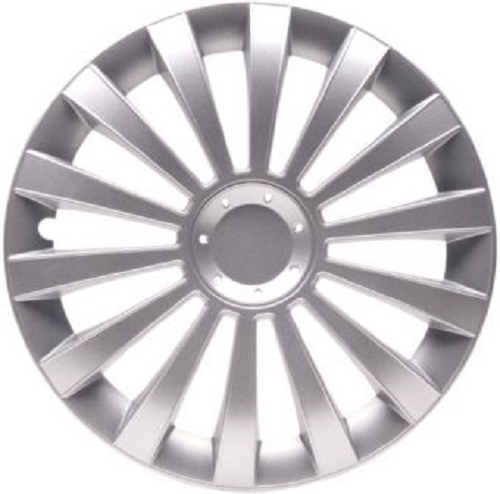 ALBRECHT Wheel cover hub cap MERIDIAN 16 inch 1 piece Silver City-Line 261161