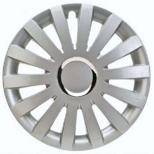 ALBRECHT Radzierblende Radkappe SAIL Plus 17 Zoll 1 Stück Silber Premium Design 49207