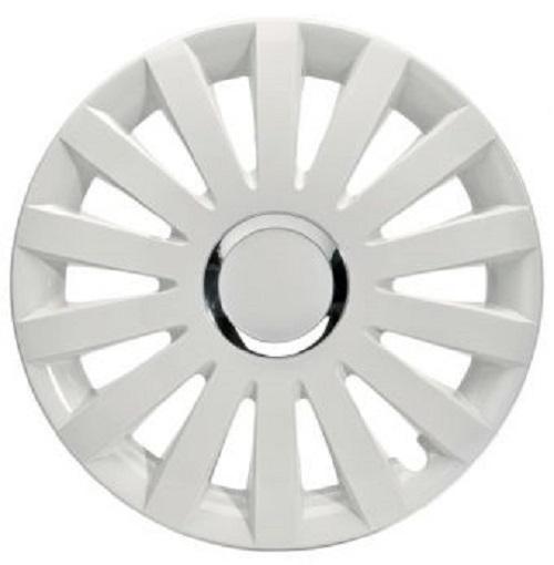 ALBRECHT Radzierblende Radkappe SAIL WHITE Plus 16 Zoll 1 Stück weiß Premium Design 49226