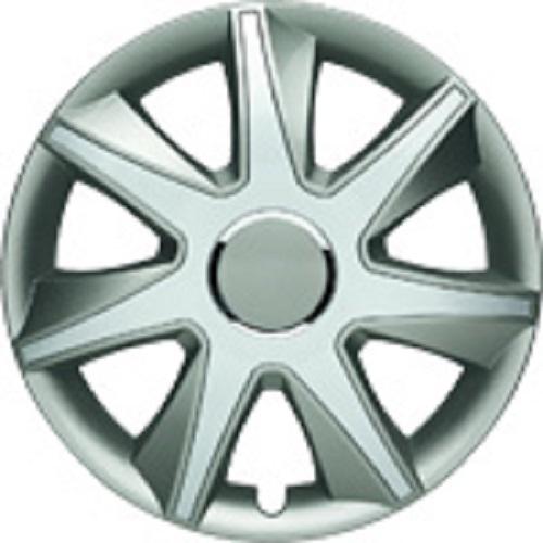 ALBRECHT Radzierblende Radkappe RUN I Plus 14 Zoll 1 Stück Silber/Grau 49454
