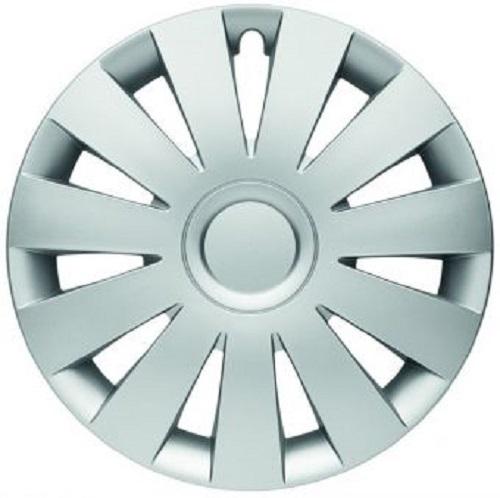 ALBRECHT Radzierblende Radkappe STRIKE 15 Zoll 1 Stück Silber Matt Premium Design 09005