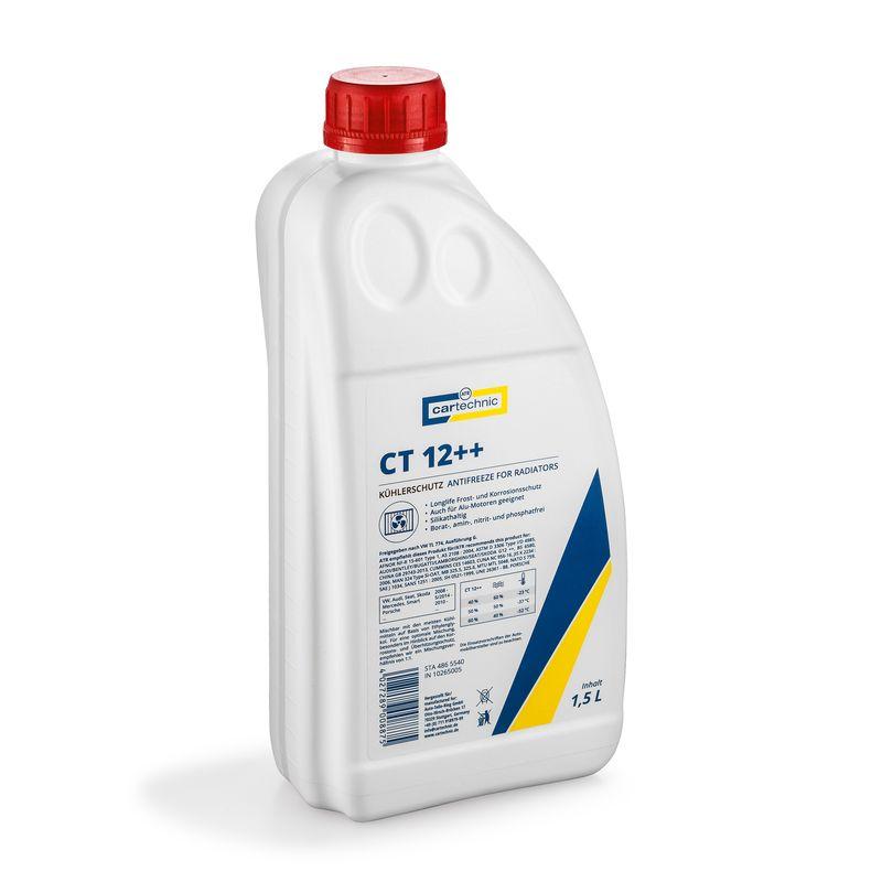 CARTECHNIC Kühlerfrostschutz 1,5 Liter CT 12++ 1,5 Liter Dunkelviolett 4027289008875