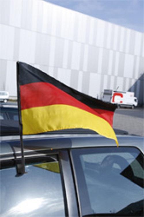 KAUFMANN ACCESSORIES Autoflagge Deutschland mit Stab 25x44 WMINN610