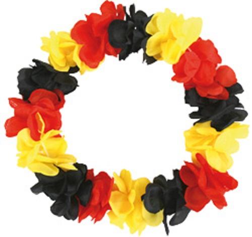 KAUFMANN ACCESSORIES Hawaiikette Deutschland Schwarz Rot Gold WMINN660