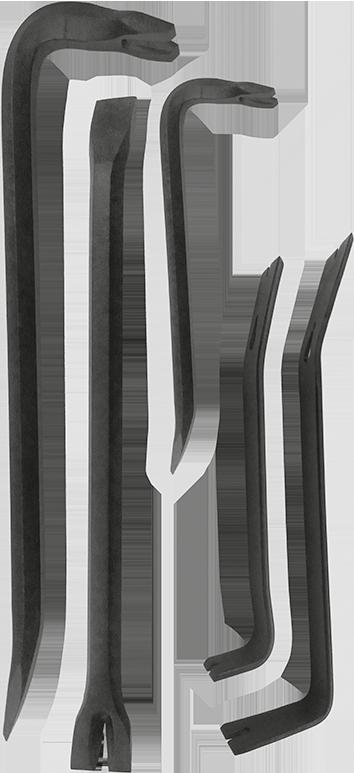 Montierhebelsatz 5-Teilig Pulverlackiert KUNZER (7MH05)