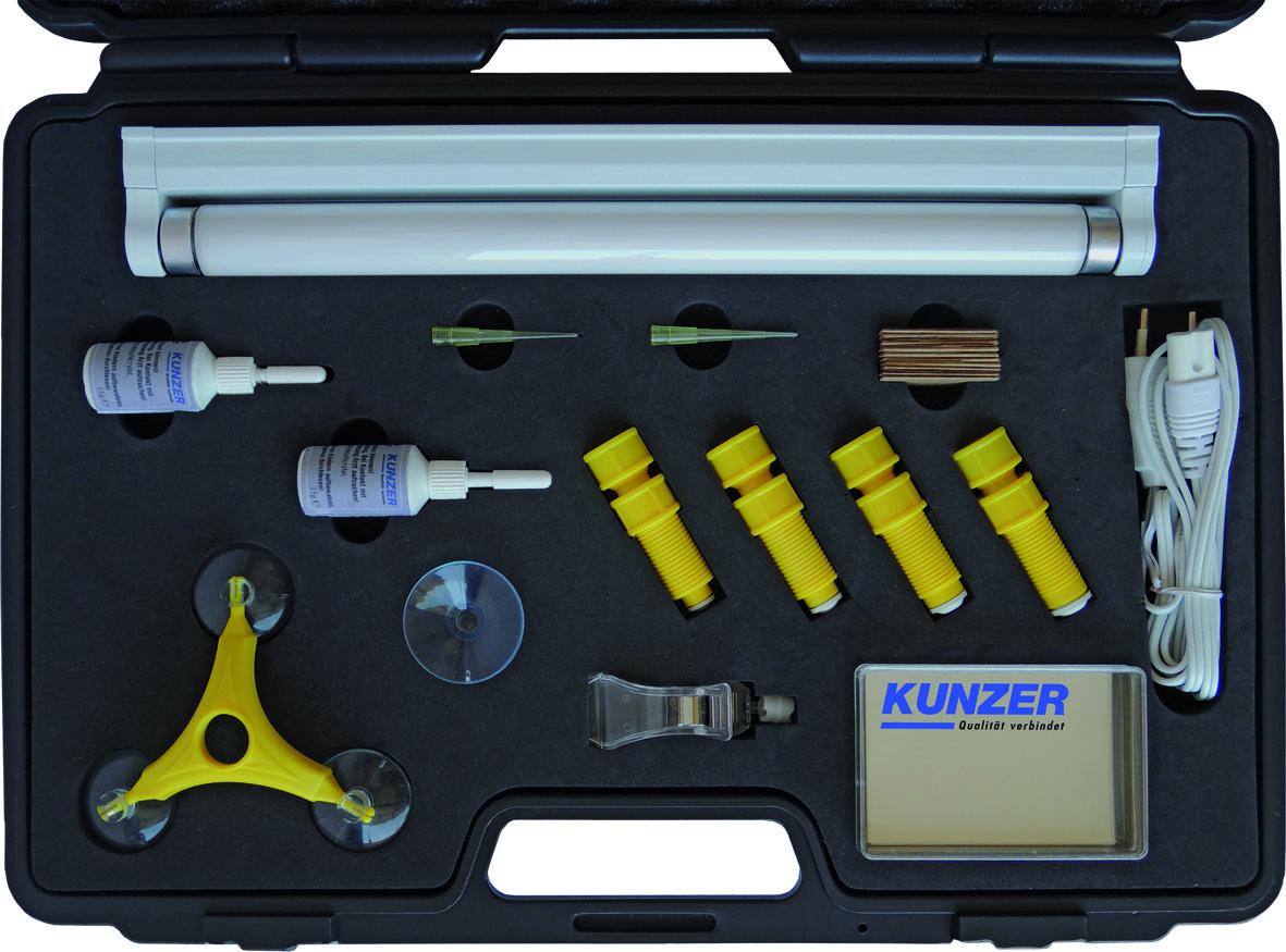 Disc repair kit, 120 pcs. KUNZER (7SRS120)