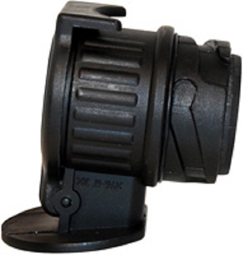LAS Kurzadapter Anhänger Drehbar 13-polig auf 7-polig 12 Volt Kunststoff 10007