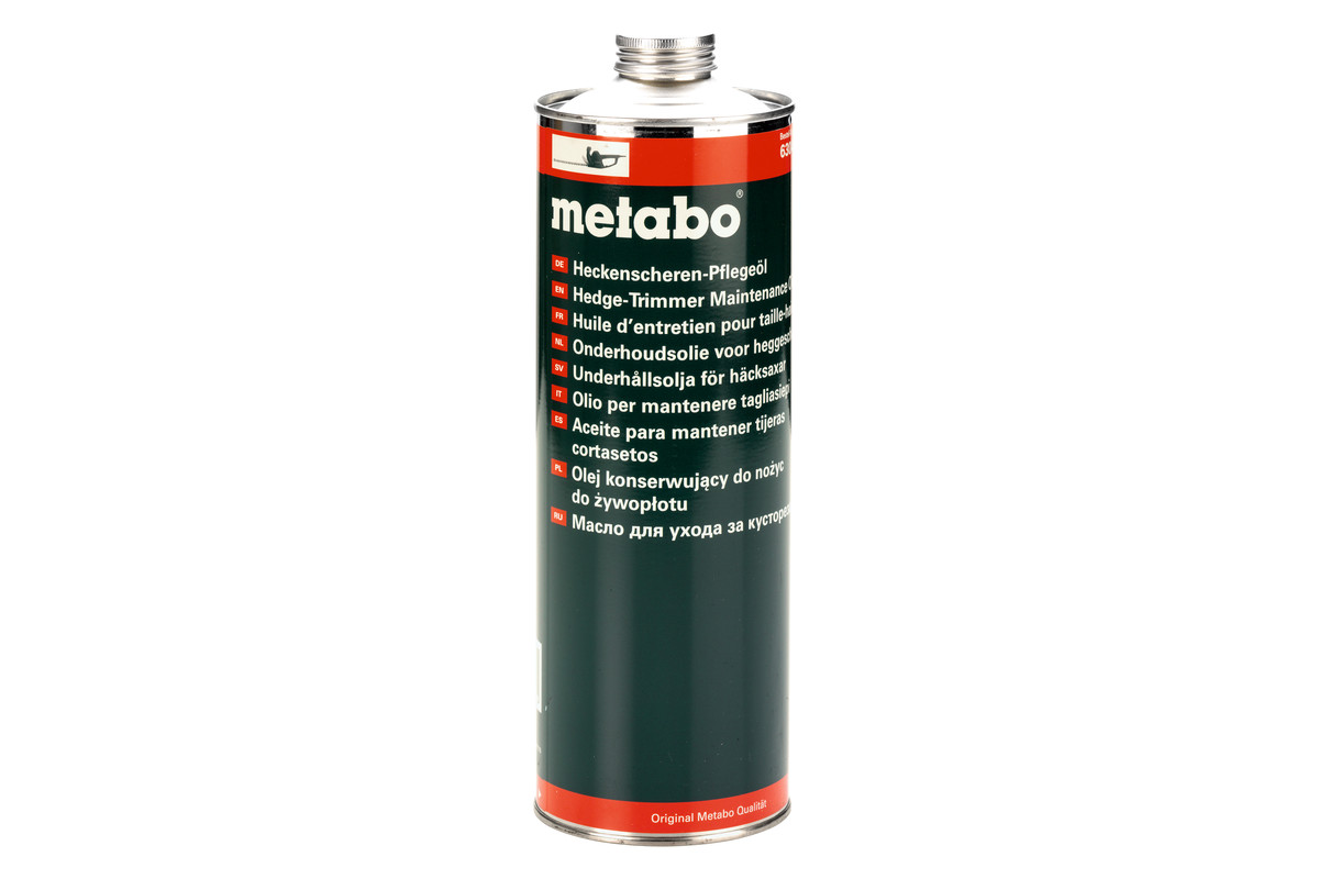METABO Heckenscheren-Pflegeöl 1 l (630474000) 630474000