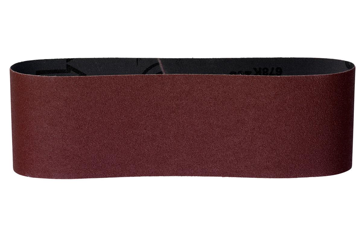 METABO 3 Schleifbänder 75x533 mm, P 80, Holz+Metall für Bandschleifer (631003000) 631003000