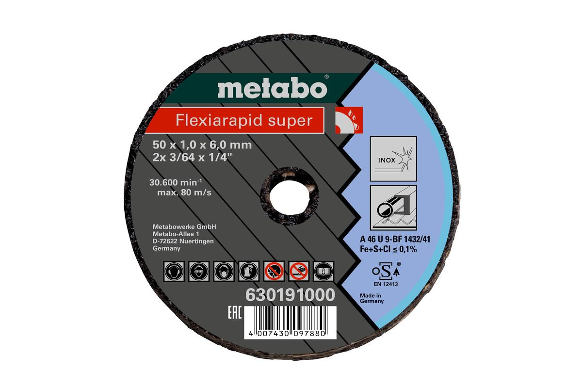 METABO Kleintrennscheibe Flexiarapid Super 76x1,0x6,0 Inox (630195000) 630195000